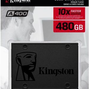 Kingston SA400S37480G - Disco duro interno de 480 GB A400 SATA 3 2.5
