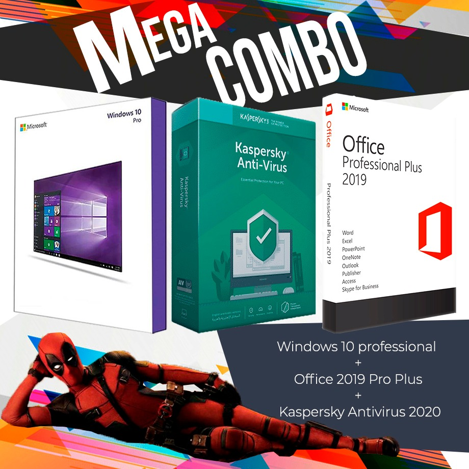 Windows 10 Professional + Autocad 2020 Por 3 Años + Office 2019 Professional Plus