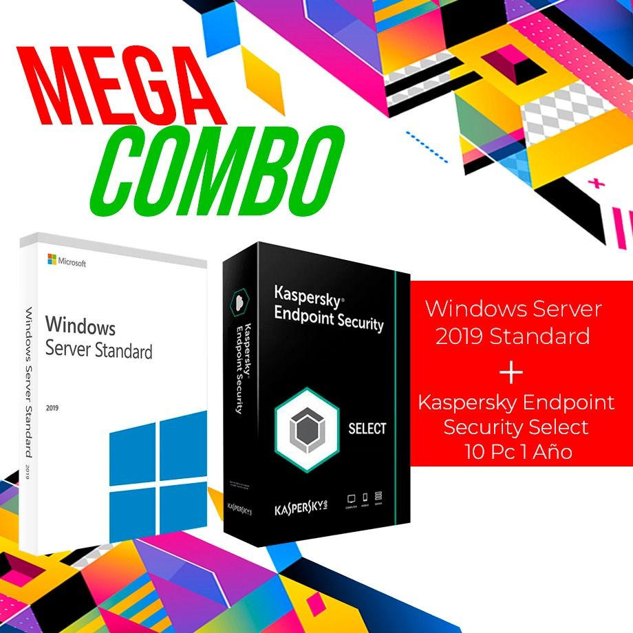 Windows-Server-2019-Standard-+-Kaspersky-Endpoint-Security---Select-10-Pc-1-Año