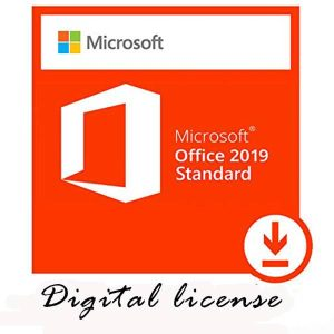 Microsoft Office Standard 2019 Portada